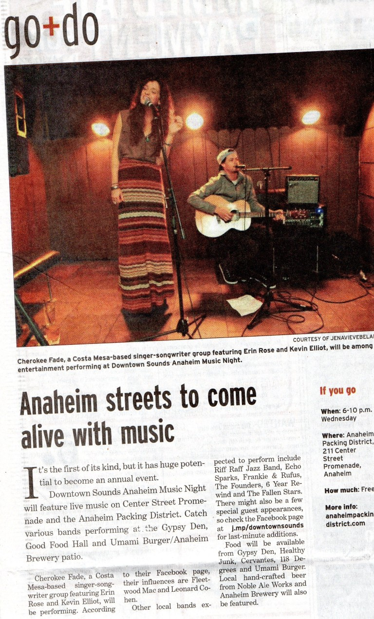 Downtown Sounds article
